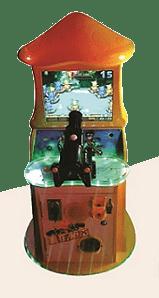 simulador de tiro para niños