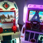 simulador auto para cumpleaños