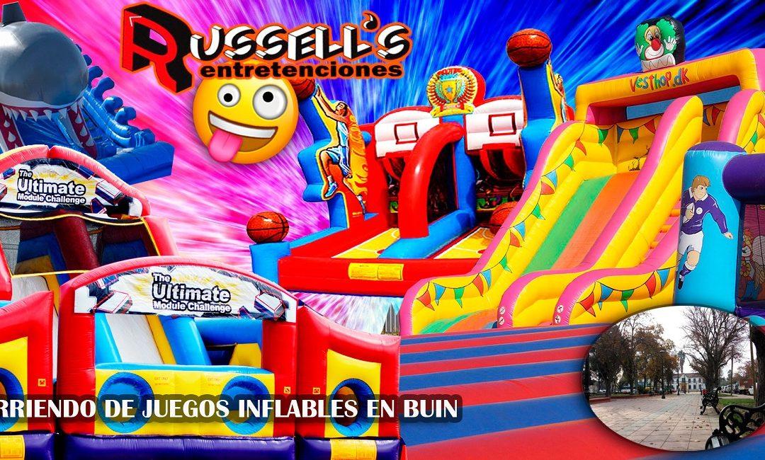Arriendo de Juegos Inflables para cumpleaños en Buin