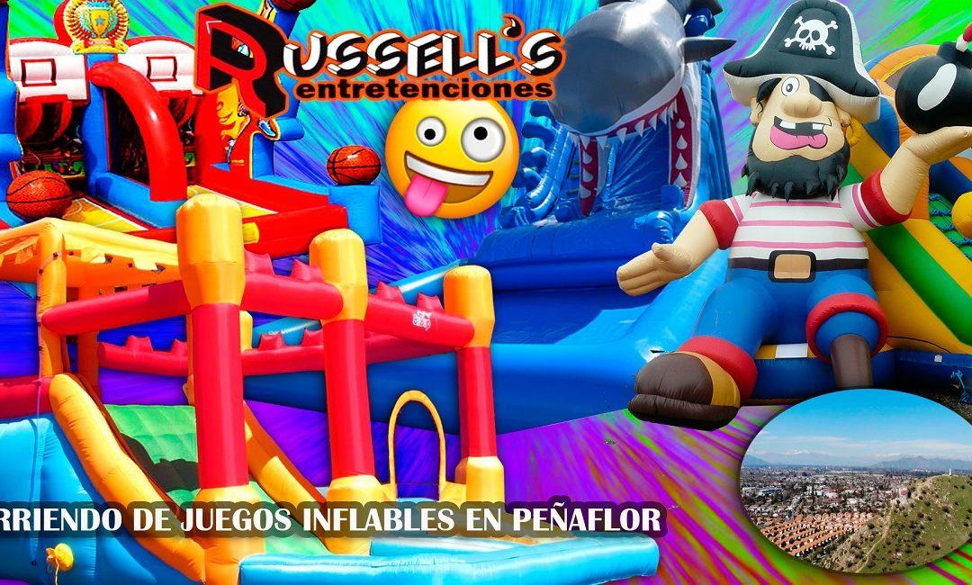 Arriendo de Juegos Inflables en Peñaflor