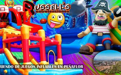 Arriendo de Juegos Inflables para cumpleaños en Peñaflor
