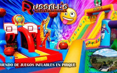 Arriendo de Juegos Inflables para cumpleaños en Pirque