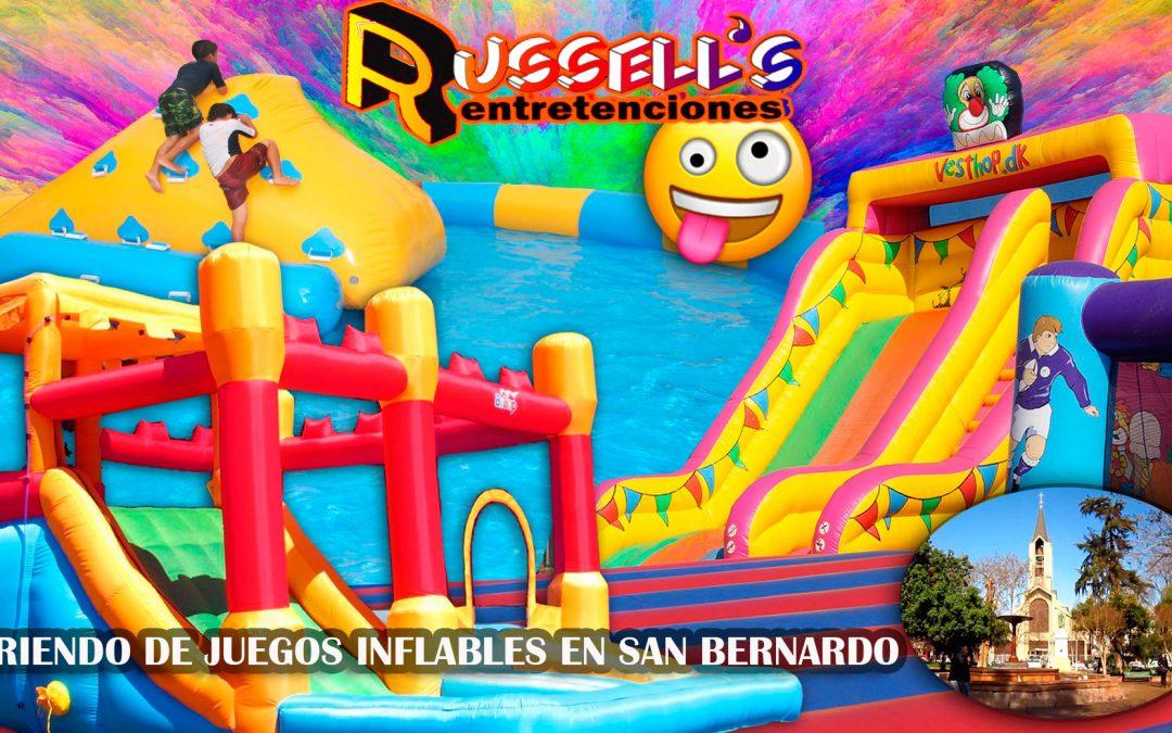 Arriendo de Juegos Inflables para cumpleaños en San Bernardo