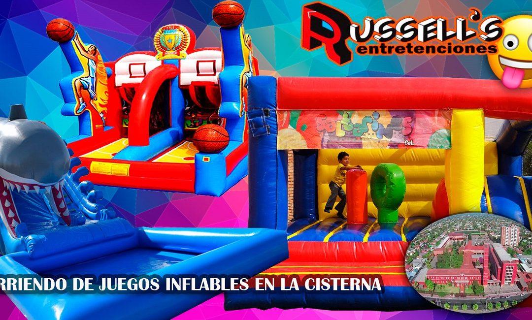 Arriendo de Juegos Inflables para cumpleaños en La Cisterna
