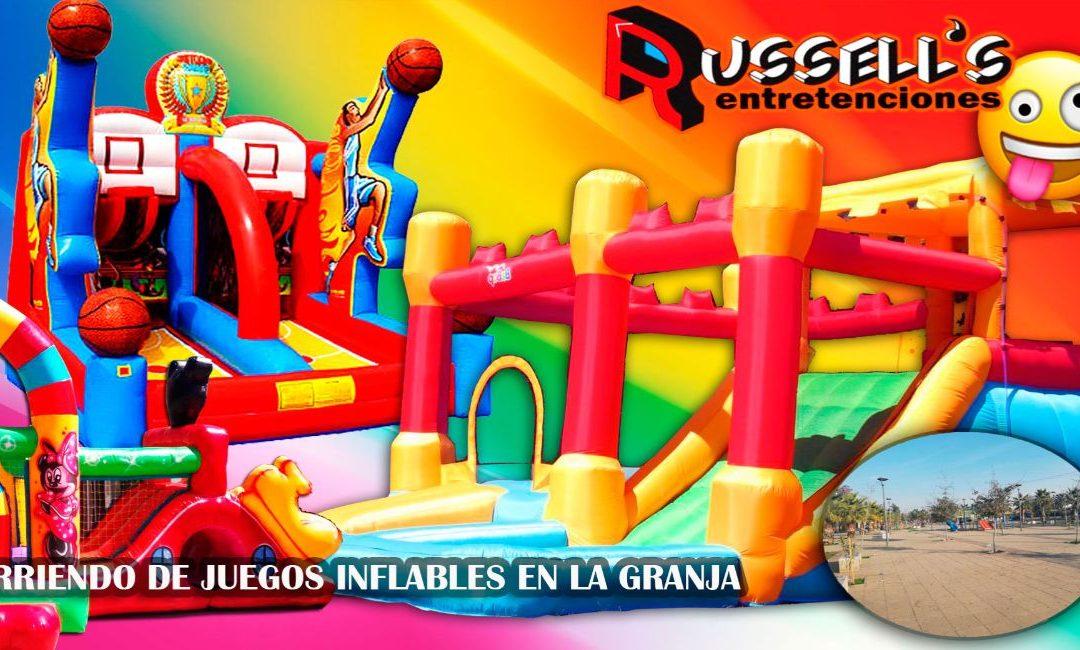 Arriendo de Juegos Inflables para cumpleaños en La Granja