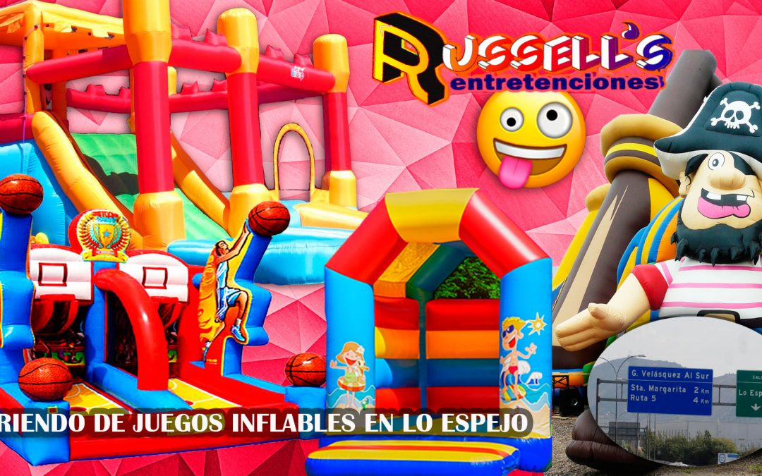 Arriendo de Juegos Inflables para cumpleaños en Lo Espejo