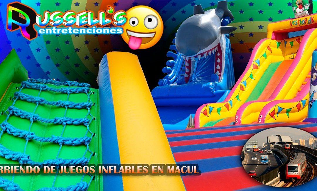 Arriendo de Juegos Inflables para cumpleaños en Macul