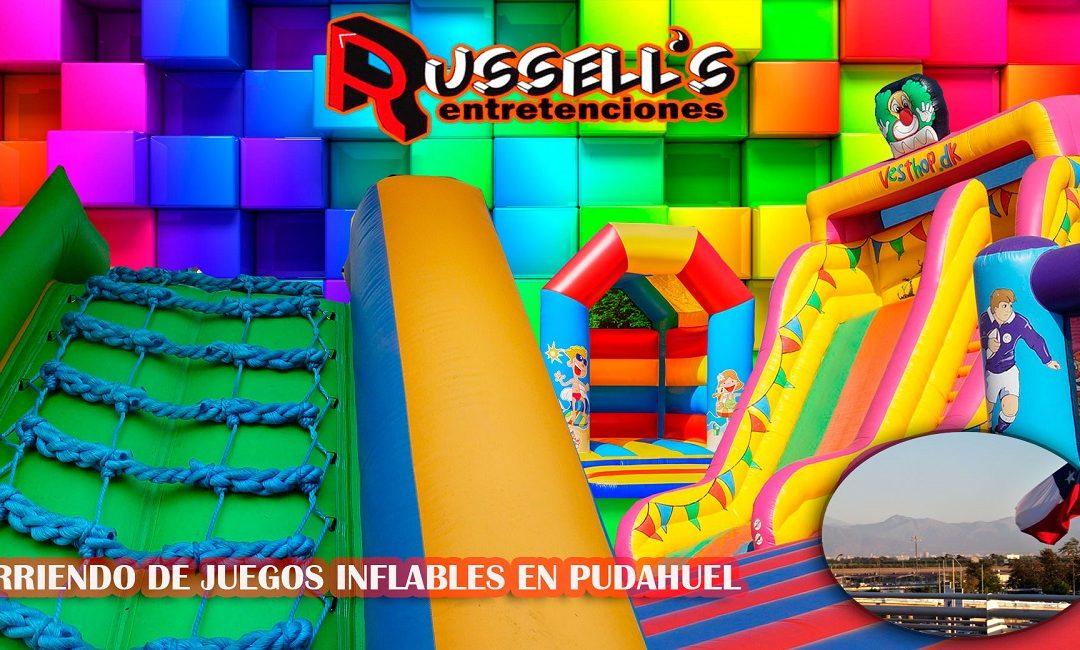 Arriendo de Juegos Inflables para cumpleaños en Pudahuel