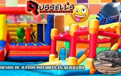 Arriendo de juegos inflables en Quilicura
