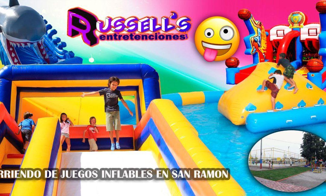 Arriendo de Juegos Inflables para cumpleaños en San Ramón