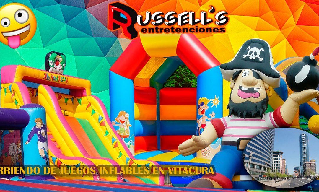 Arriendo de Juegos Inflables para cumpleaños en Vitacura
