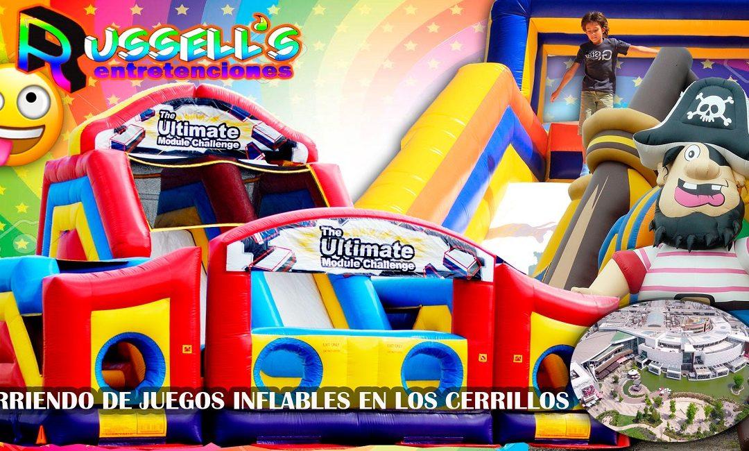Arriendo de juegos inflables en Cerrillos