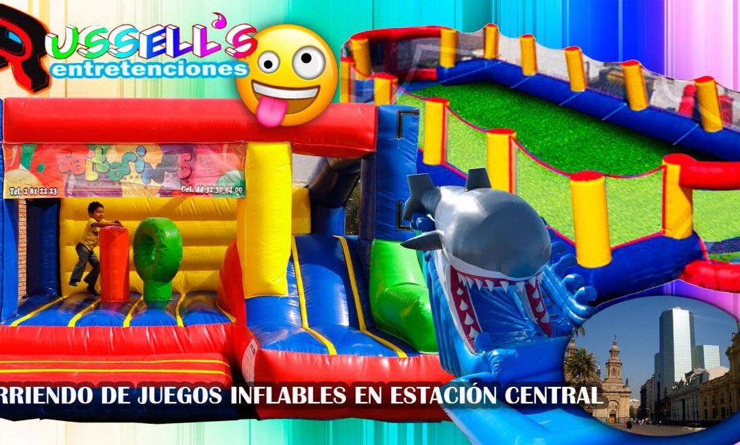 Arriendo de Juegos Inflables para cumpleaños en Estación Central