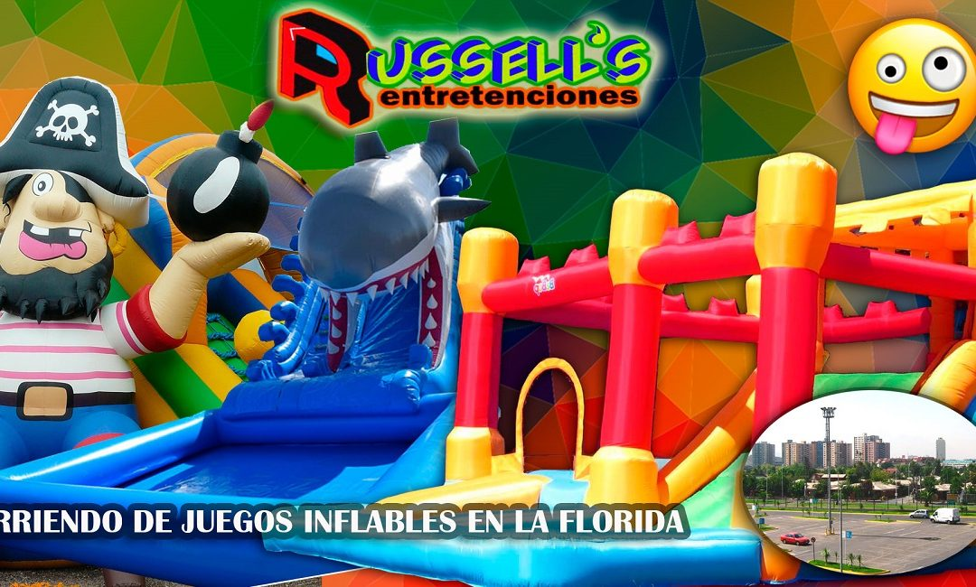 Arriendo de juegos inflables en La Florida