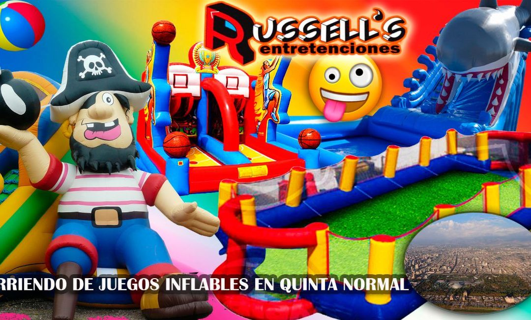 Arriendo de Juegos Inflables para cumpleaños en Quinta Normal