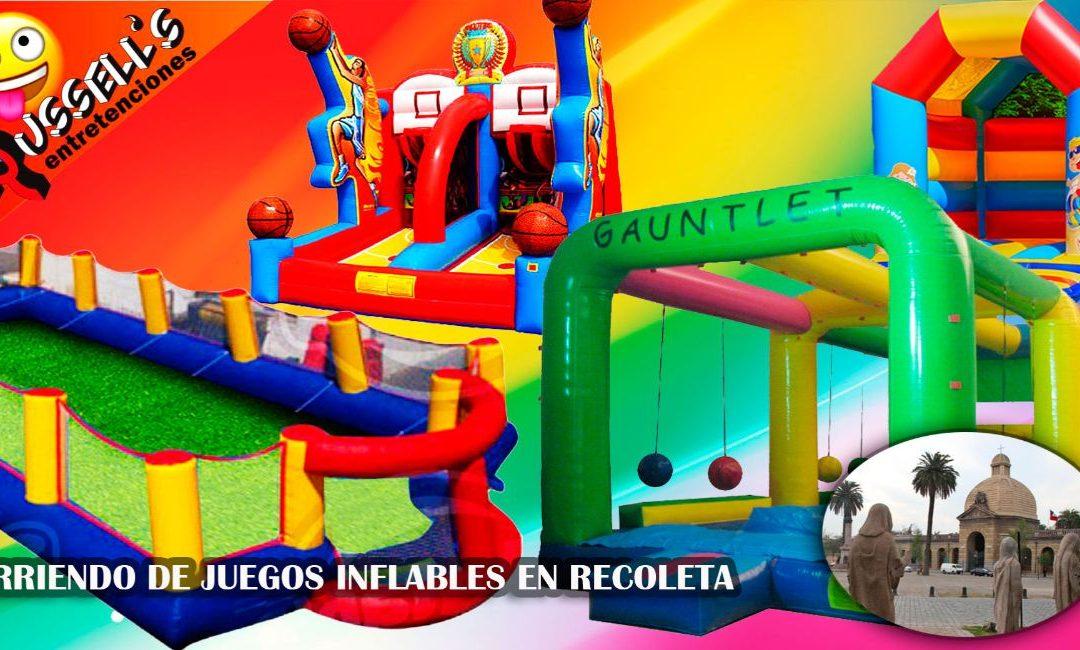 Arriendo de Juegos Inflables en Recoleta