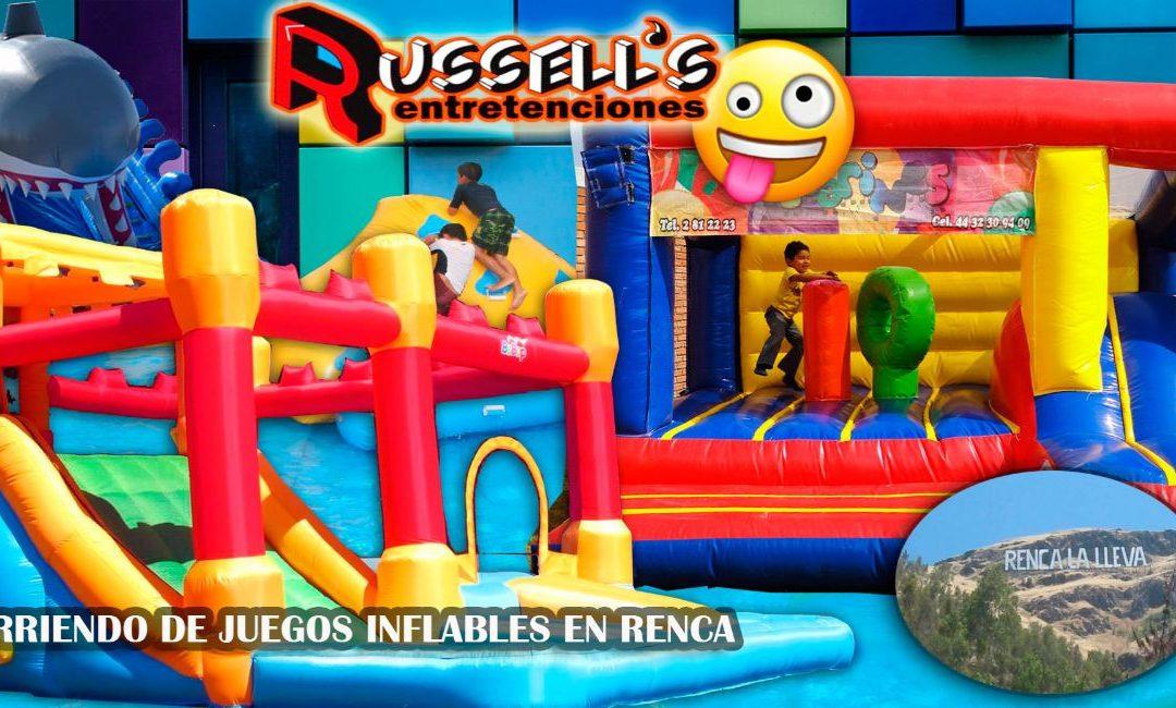 Arriendo de Juegos Inflables en Renca